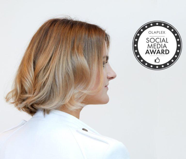 Cosmo Hair-styling Ijmuiden wint Olaplex Social Media Award