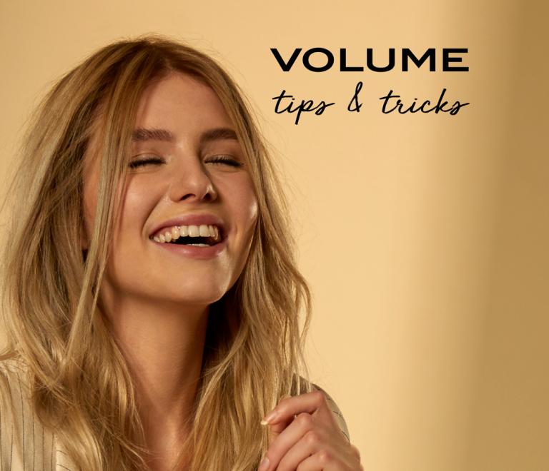 Thuis een 'nieuwe' coupe met onze verfrissende volume tips!