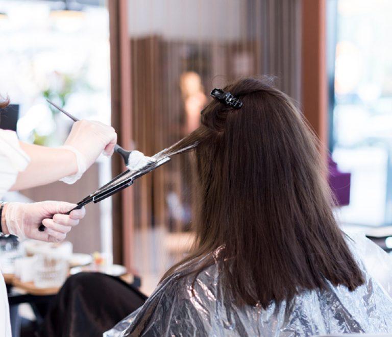 Hair contouring voor een feilloze gezichtsvorm