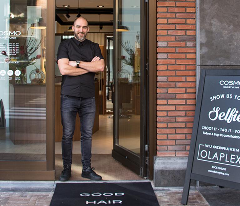 Brand new salon: Cosmo Hairstyling Czaar Peter-straat