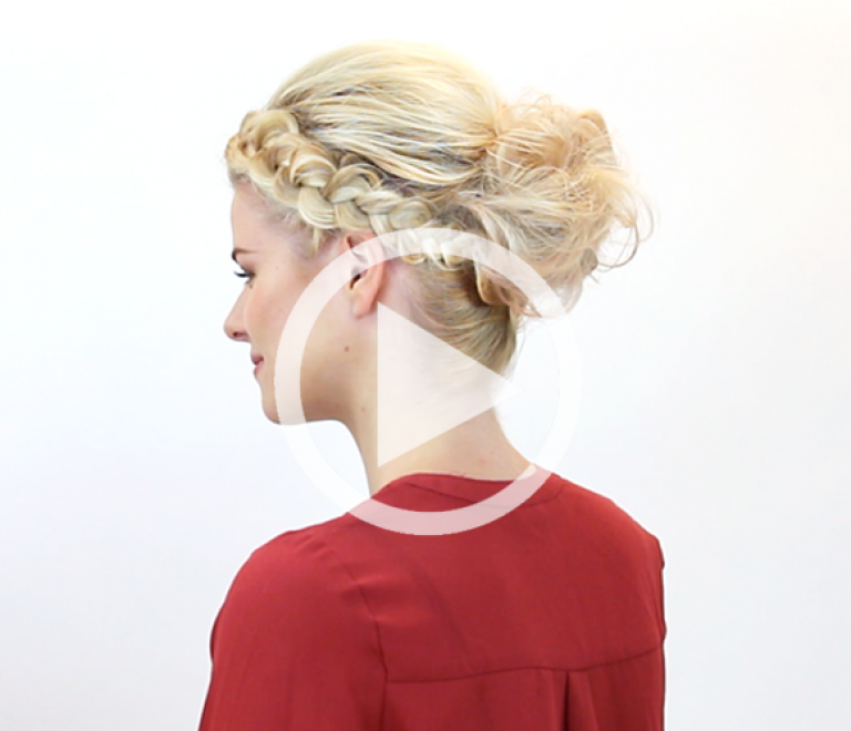 How to: bohemian updo