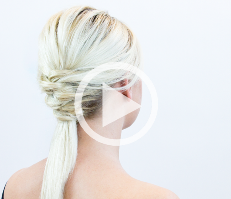How to: easy ponytail